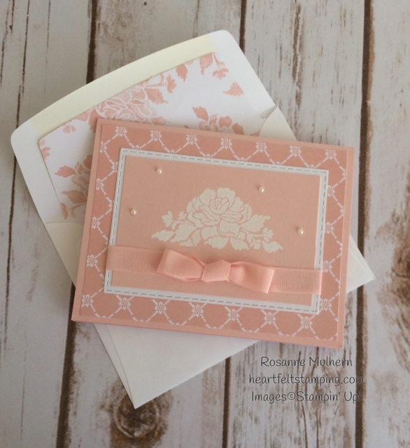 Stampin Up Fresh Florals Notecards Set - Rosanne Mulhern Heartfelt Stamping
