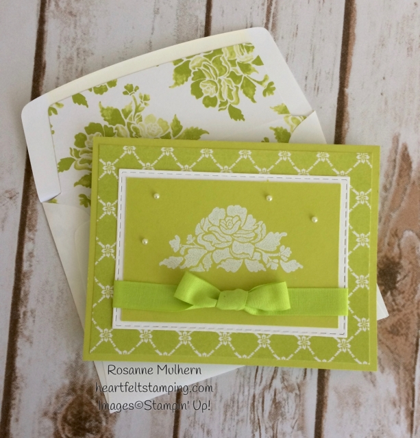 Stampin Up Fresh Florals Notecards Sets - Rosanne Mulhern Heartfelt Stamping