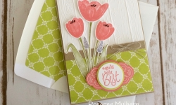Stampin Up Tranquil Tulips All Occasion Cards Ideas - Rosanne Mulhern