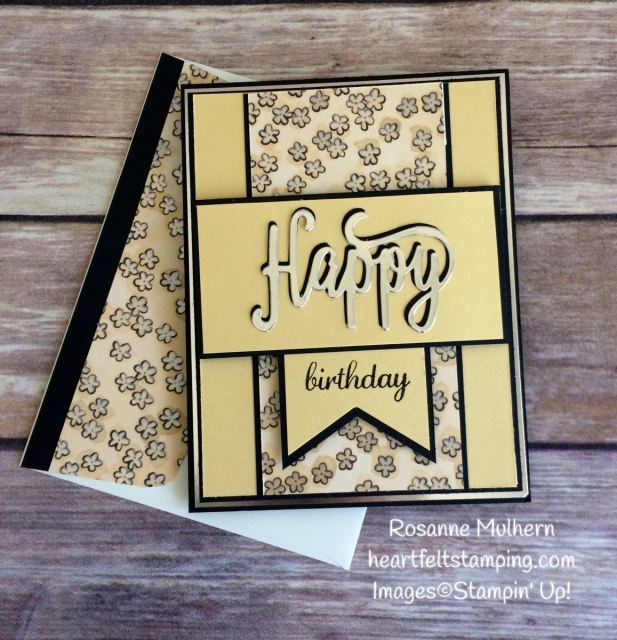 A Happy Share What You Love Birthday Heartfelt Stamping