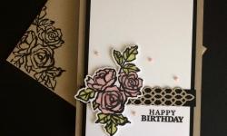 Stampin Up Petal Palette Birthday Cards - Rosanne Mulhern Heartfelt Stamping