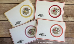 Stampin Up Bike Ride Mother's Day Card idea - Rosanne Mulhern Heartfelt Stamping