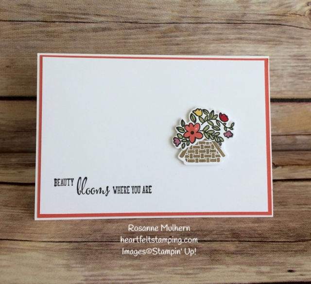 Stampin Up Bike Ride Mother's Day Cards idea - Rosanne Mulhern Heartfelt Stamping