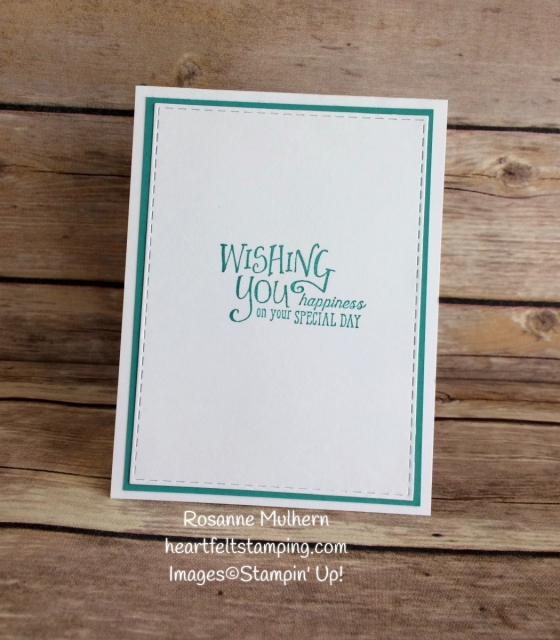 Stampin Up Bubbles and Fizz Balloon Birthday Card -Rosanne Mulhern Heartfelt Stamping