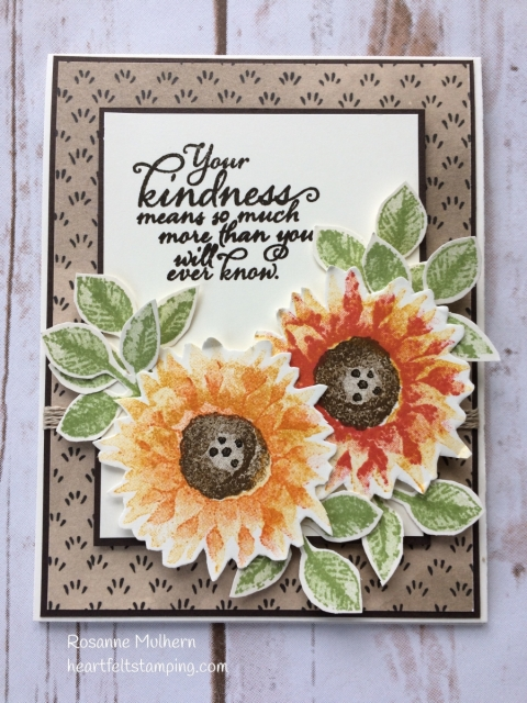 Stampin Up Painted Harvest Thank You Cards - Rosanne Mulhern Heartfelt Stamping