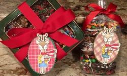 Hello Bluebird Fall Friends Christmas Tag - Rosanne Mulhern Heartfelt Stamping