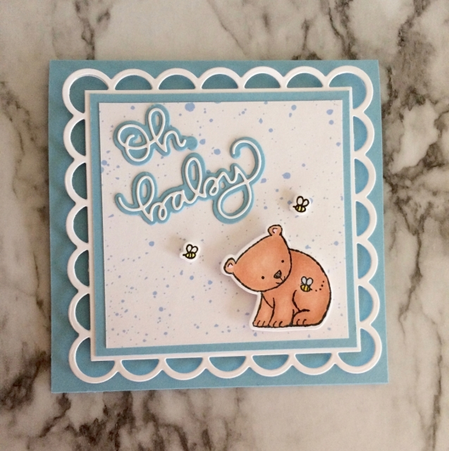Baby Cards- Rosanne Mulhern Heartfelt Stamping