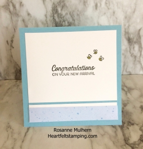 Baby Cards-Rosanne Mulhern Heartfelt Stamping