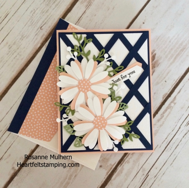 Stampin Up Daisy Punch Mother's Day Card - Rosanne Mulhern Heartfelt Stamping