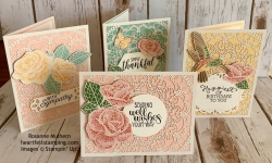 Stampin Up Mosiac Mood All Occasion Card Idea - Rosanne Mulhern stampinup