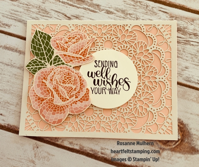Stampin Up Mosiac Mood All Occasion Card Idea-Rosanne Mulhern stampinup