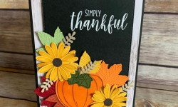 Stampin Up Thanksgiving Card Idea -Rosanne Mulhern stampinup