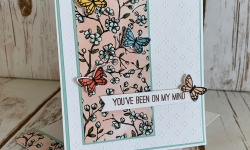 Stampin Up Butterfly Gala Thinking of You Card Idea - Rosanne Mulhern stampinup