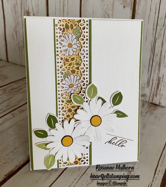 Stampin Up Ornate Garden Thinking of You Card Idea -Rosanne Mulhern stampinup