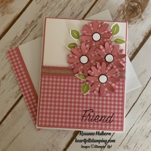 Daisy Lane Friendship Card Ideas -Rosanne Mulhern stmpinup