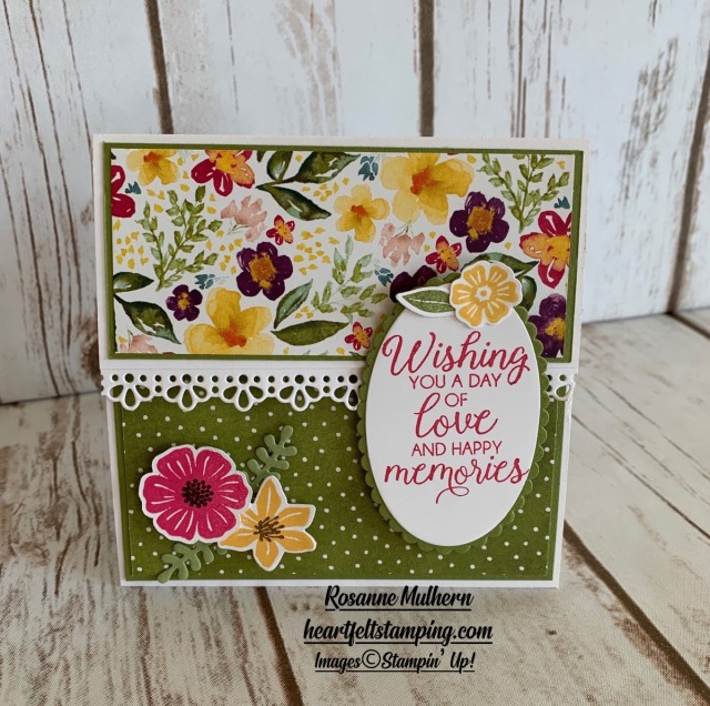 Special Occasion Gift Card Holder Ideas-Rosanne Mulhern stampin up