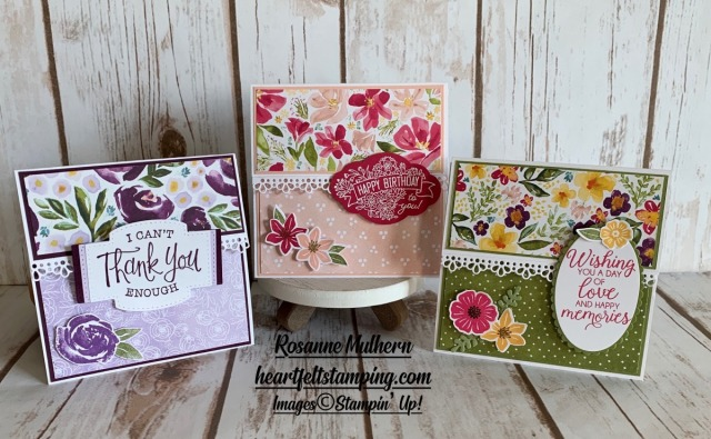 Special Occasion Gift Card Holder Ideas - Rosanne Mulhern stampin up