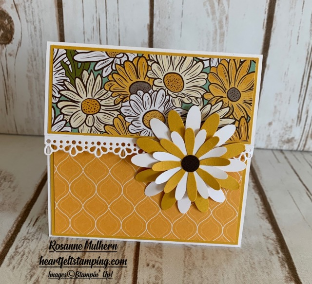 Stampin Up Ornate Garden Gift Card Holders- Rosanne Mulhern stampinup