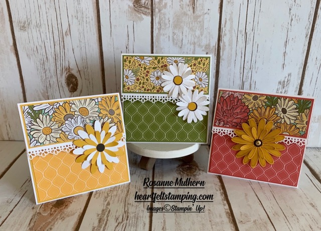 Stampin Up Ornate Garden Gift Card Holders - Rosanne Mulhern stampinup