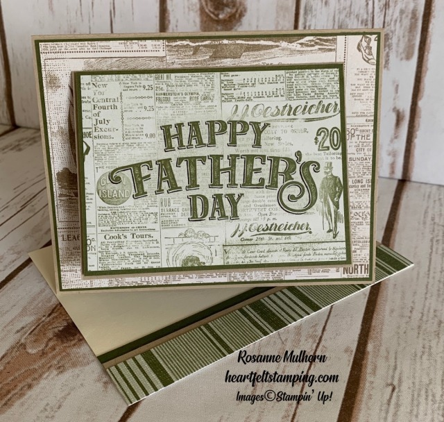 Come Sail Away Memories & More Father's Day cards - Rosanne Mulhern stampinup