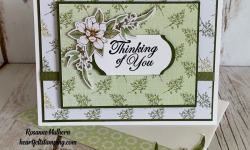 Stampin Up Magnolia Lane Memories and More Thinking of You Card Ideas -Rosanne Mulhern stampinup