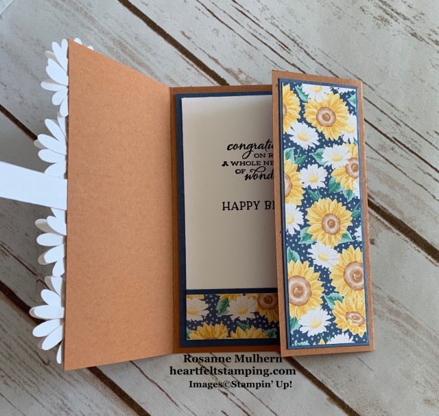 Stampin Up Flowers for Every Season Birthday Card Idea Rosanne Mulhern stampinup