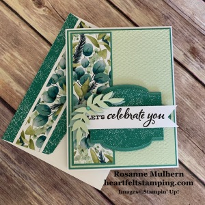 Stampin Up Forever Greenery Birthday Card Idea - Rosanne Mulhern stampinup
