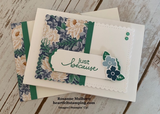 Stampin Up Lovely You Note Cards Gift Set-Rosanne Mulhern stampinup